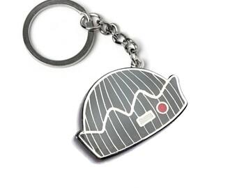 Keychain Jughead Jones beanie hat enamel pin | Archie Riverdale comics inspired fanart merch |