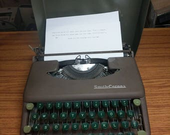1951 Smith Corona Skyriter ultra portable typewriter