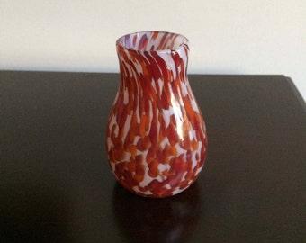 Hand Made Art Glass Vase