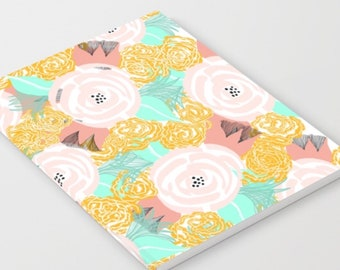 Lovely floral journal