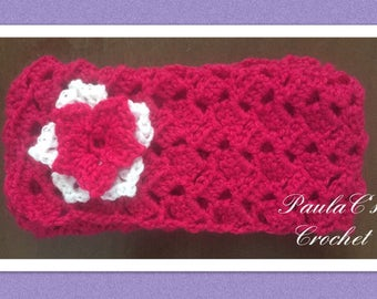 Handmade Crochet Girls Scarf