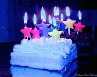 Happy Birthday, Dessert Art, Cake Photo, Photography, Food Photography, Kitchen Art, Kitchen Decor, Purple Pink