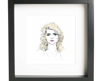 Sunday Girl // Debbie Harry Portrait // Blondie Illustration