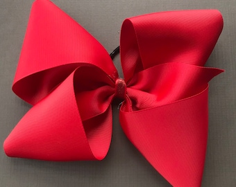 Boutique Style Big Bow - Black, Red or White
