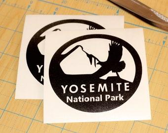 Yosemite National Park Sticker  | Yosemite Park decal