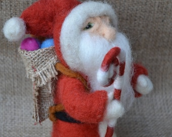 Needle Felted - Santa Claus
