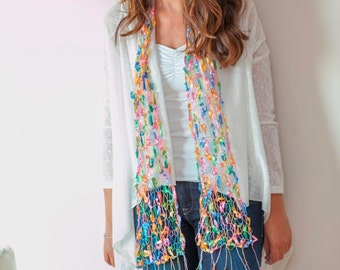 PIF Bright Pastels Summer Scarf