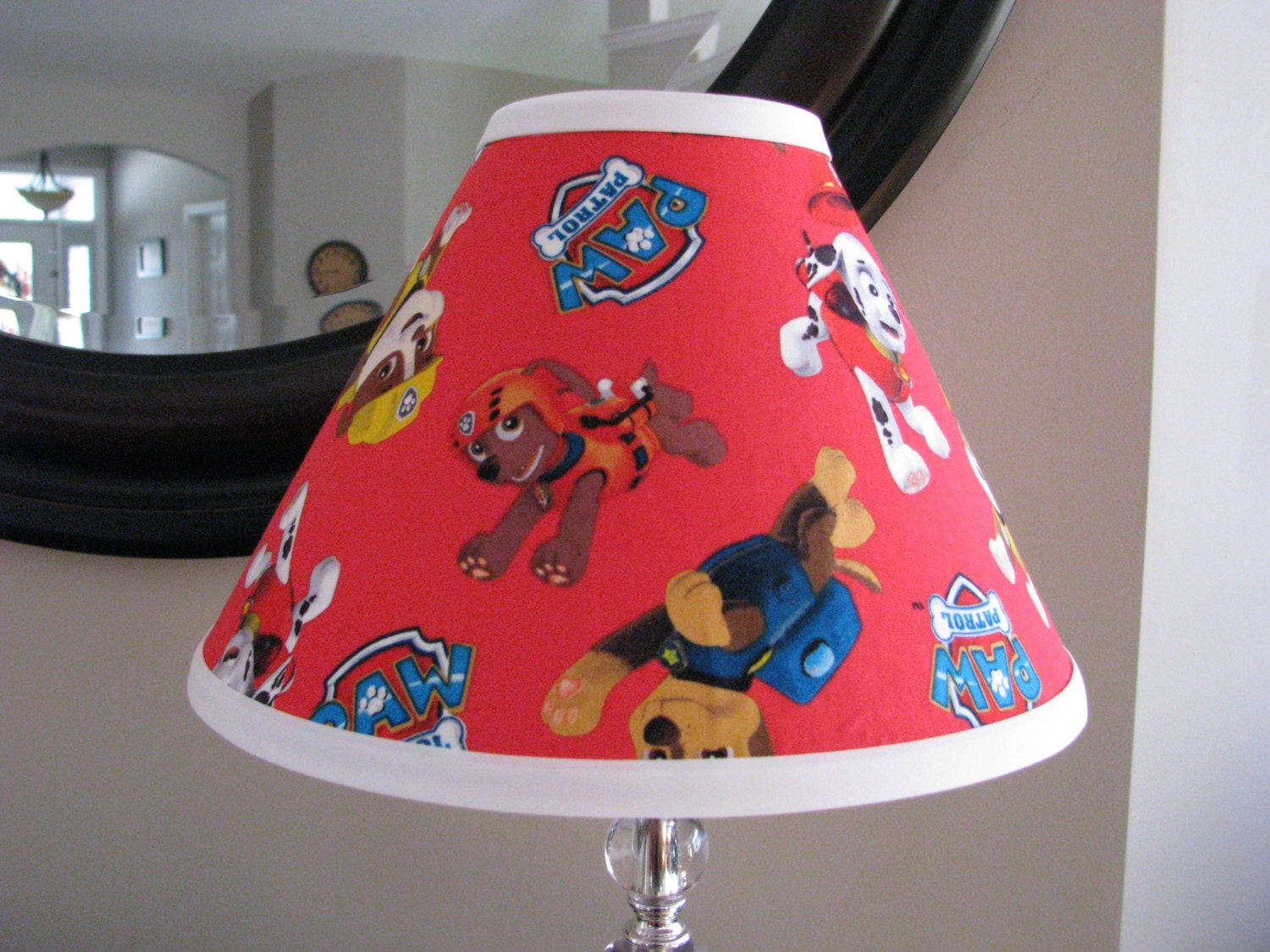 Paw patrol lamp shade zoom aloadofball Choice Image