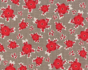 Return to Winter's Lane Taupe 13170 19 by Kate & Birdie Paper Co for Moda Fabrics - Quilt, Christmas