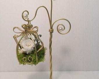 Jaula de flor preservada 2.0