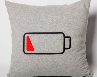 Cushion: 20% on grey jersey battery