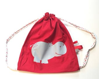 Bag back - Hippo Kids Toy bag