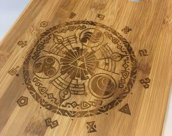 Legend of Zelda Bamboo Cutting Board-Small and Medium