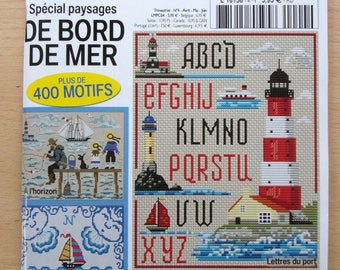the best new No. 4 cross stitch book - special seaside landscapes