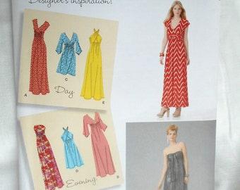 Simplicity 1804 Misses' Knit Dresses Sizes 14, 16, 18, 20, 22