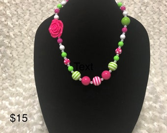 Beautiful colorful necklace