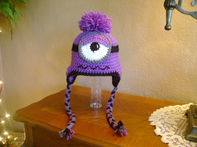 Nice Free Crochet Pattern For Minion Hat Inspiration Sewing