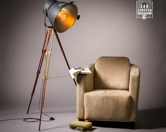 Vintage Theater Stage light Floor Lamp