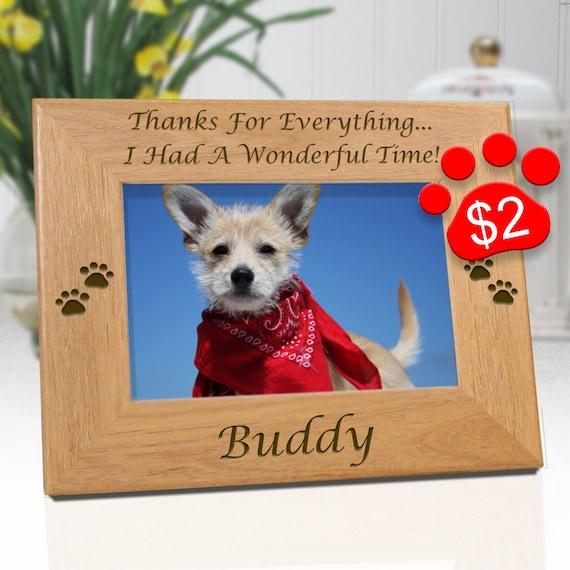 Dog Memorial Frame Dog Picture Frames Pet Loss Gifts Dog