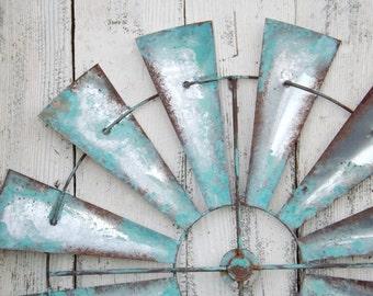 Windmill Wall Decor~Wind Mill~Windmill Wall Art~Farm House Decor~Rustic~Windmill Head~IndustrialCyber Monday