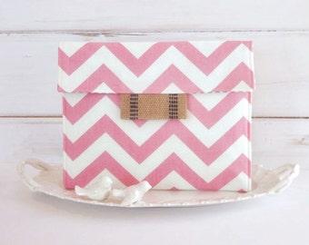 iPad Envelope Case, Ipad Case, Ipad Sleeve, Ipad mini envelope cover, case, ipad Cover in Sweetie Chevron