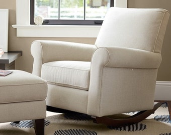 Charmant Pottery Barn Charleston Convertible Chair Slipcover Set From Your Own  Fabric!