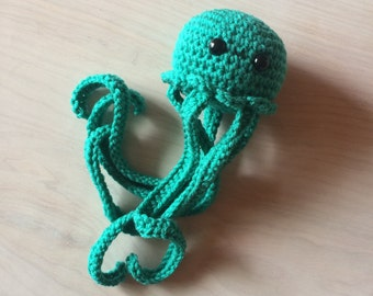 Amigurumi Jellyfish (teal)