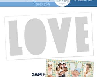 10x20 LOVE Letters Storyboard - Photographer Template