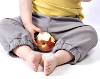 city pant - child - uniform grey - 2T 3T 4-5 years - unisex girl boy trousers
