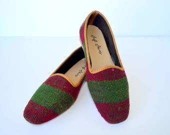 Women kilim shoes - 38 euro size