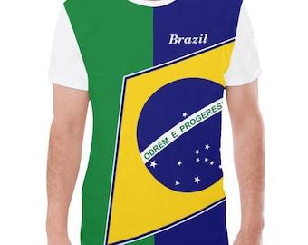 Brazil Men's Flag Tee