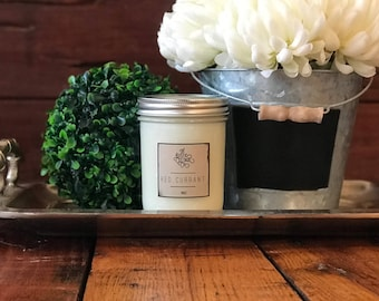 Red Currant 16oz Woodwick Candle