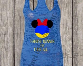 Disney Princess half / Disney snow white // disney princess // running disney / run disney princess running / evil queen minnie snow white
