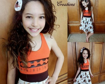 MOANA Dress, Girls Moana Dress, Girls Dress, Moana, Moana Aurora Dress - Available in  2y - 12y LIMITED