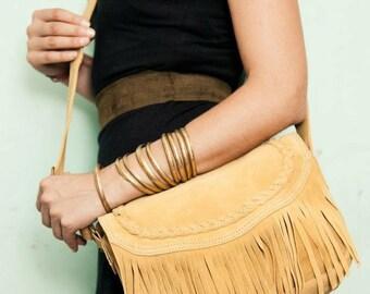 leather bag with fringes,fringe bag,fringe leather bag,gray leather bag,bohemian bag,leather shulder bag,leather handbag,boho chic bag