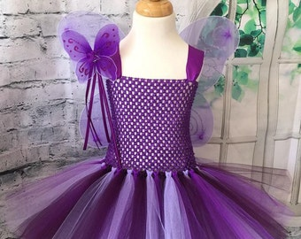 Purple butterfly tutu, butterfly tutu, butterfly dress, butterfly tutu dress, purple butterfly costume, Butterfly costume, Fairy costume