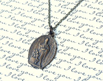 St. Nicholas Necklace For Men or Women - Made in the USA