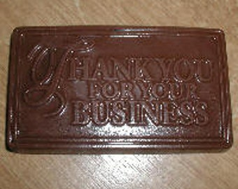 Thank You For Your Business Card Chocolate Mold