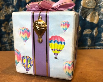 """music box Up, Up and away in my beautiful ballon 5"""".  Sounds great!"""
