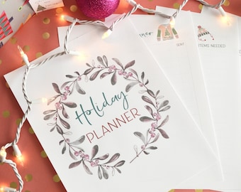 Christmas Planner, Holiday Planner, Christmas Printables, Printable Gift Tags, Holiday Printables, Christmas Planning, Holiday Organizer