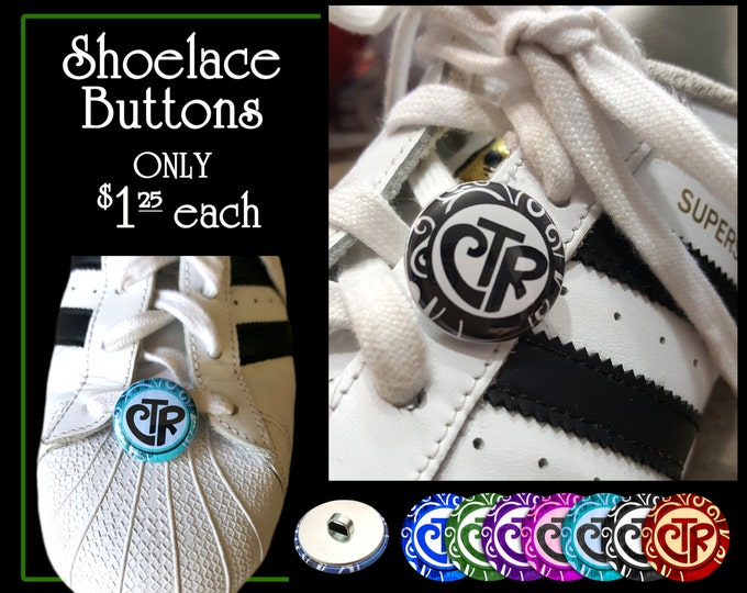 CTR Choose The Right Shoelace Button Primary 2017 Theme Birthday and Christmas Gifts for Children, Teens, Missionary, Stocking Stuffer YW