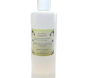Pure Olive Squalane Oil Anti Aging Serum 4 oz/ 8oz