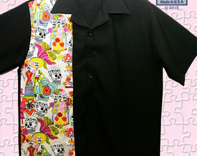 Bowling Shirts - Free Shipping - Skull Rockabilly Rebel Party Shirts