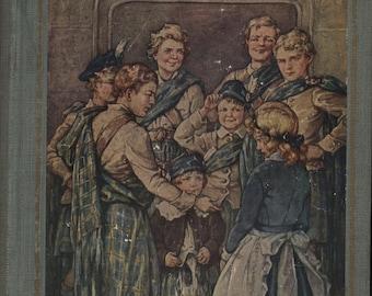Vintage Antique Book Eight Cousins Louisa Mae Alcott