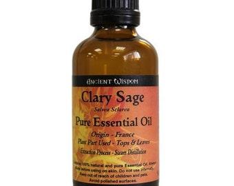 Clary Sage Essential Oil (50ml)