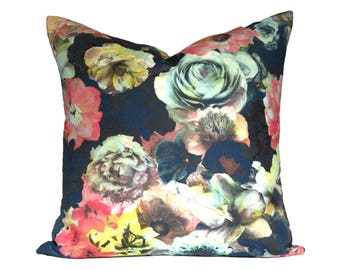 Radiant Floral designer pillow covers - Made to Order