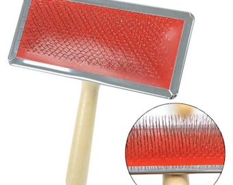 Small Soft Wire Brush with Wood Handle