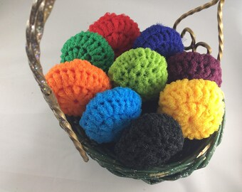 Scrubbies/scrubbie/scrubby/net/nylon/crochet/thick/pot scrubber/nylon net/netting/long-lasting/long lasting/loufah/scrub/exfoliate
