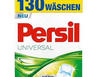 GERMAN Persil Laundry Detergent Universal Mega Pack - 130WASH