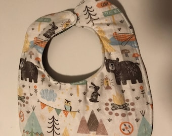 Child's bib, extra thick kid's bib, waterproof bib, clothes protector, special needs bib